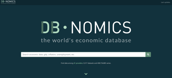 Access the free economic database DBnomics with R | R-bloggers