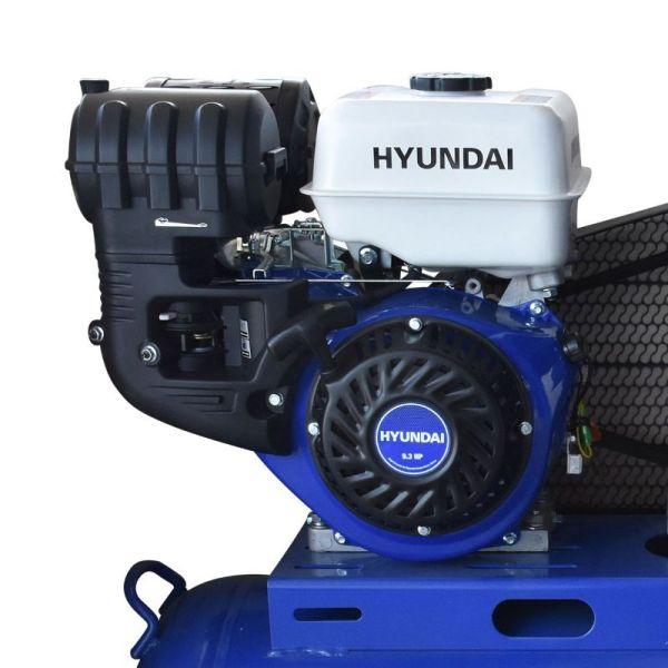Compresor Profesional a Gasolina 200 Litros_1