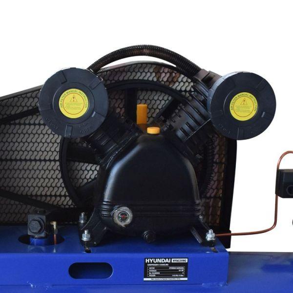 Compresor Profesional a Gasolina 200 Litros_2