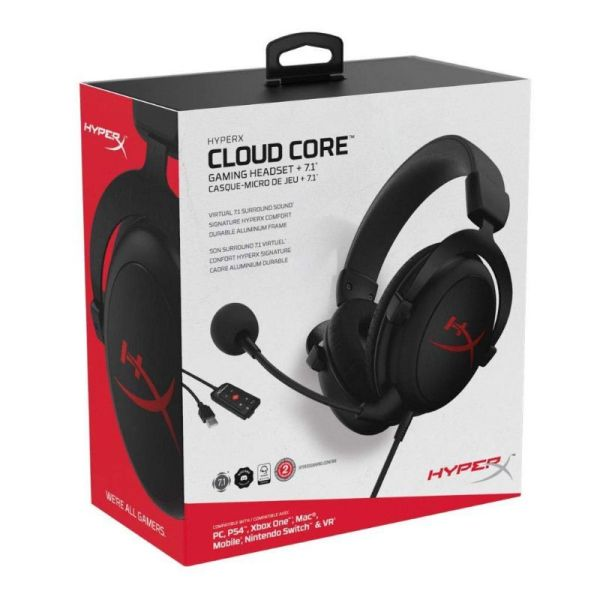Audifonos Gaming Hyperx Cloud Core