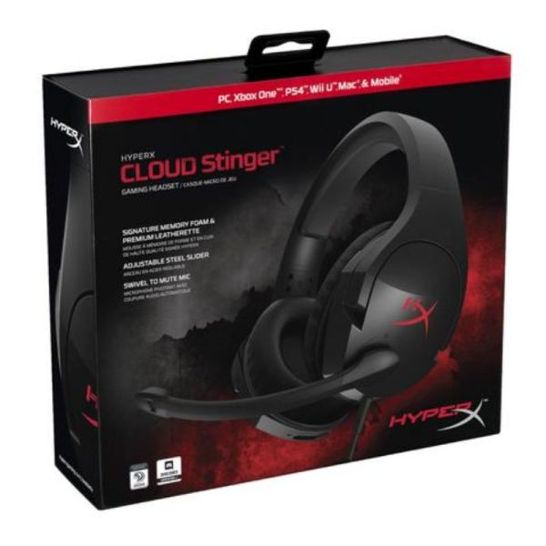 Audifono Cloud Stinger Para Gamers Con Microfono _1