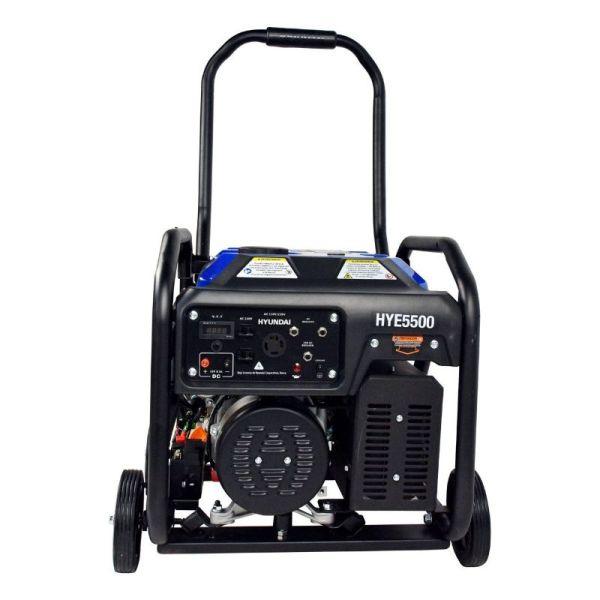 Generador Profesional de Gasolina 13.1HP 5500w_2