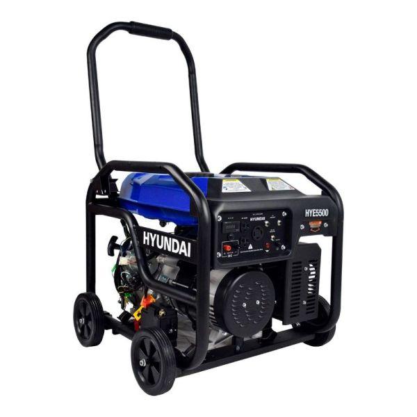 Generador Profesional de Gasolina 13.1HP 5500w_3