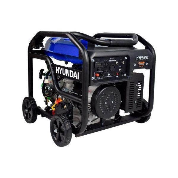 Generador Profesional de Gasolina 13.1HP 5500w_4