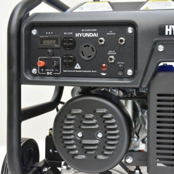 Generador Profesional de Gasolina 13.1HP 6000w_4