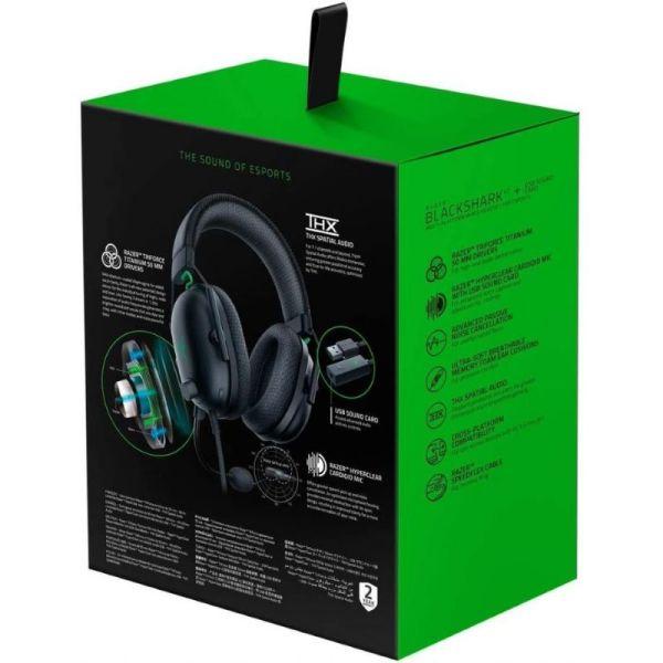 Auriculares eSports Razer BlackShark V2 con cable y USB_1