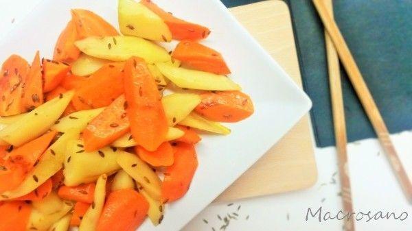 Verduras al comino