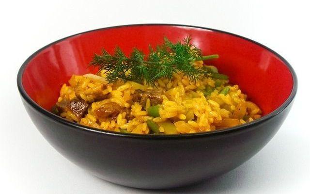 Sauteed basmati rice