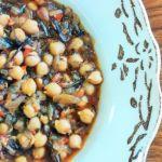 Winter chickpea stew