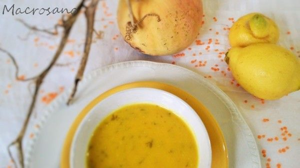 Crema de calabaza y lenteja roja (2)