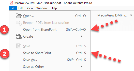 Adobe SharePoint Integration