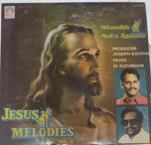 Jesus Melodies Christian Tamil Devotional LP Vinyl Record www.macsendisk.com 1