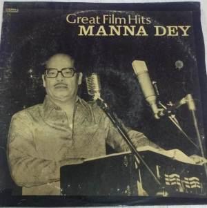 Great Film Hits Manna Dey Hindi LP Vinyl Record www.macsendisk.com 1
