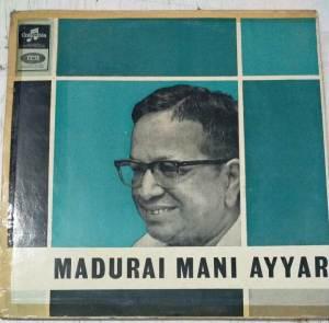 Carnatic LP Vinyl Record by Madurai Mani Iyer www.macsendisk.com 1