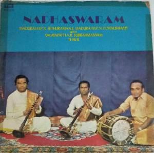 Instrumental Nadhaswaram LP Vinyl Records by Madurai MP Sethuraman & Ponnusamy www.macsendisk.com 3