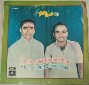 Instrumental Thavil by Valayapatti AR Subramaniam & Violin by Kunnakudi Vaidyanthan www.macsendisk.com 3jpg