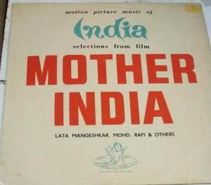 Mother India Hindi Film hits LP Vinyl Record www.macsendisk.com 1