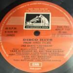 Disco Hits from Hindi Films LP Vinyl Record www.macsendisk.com 2