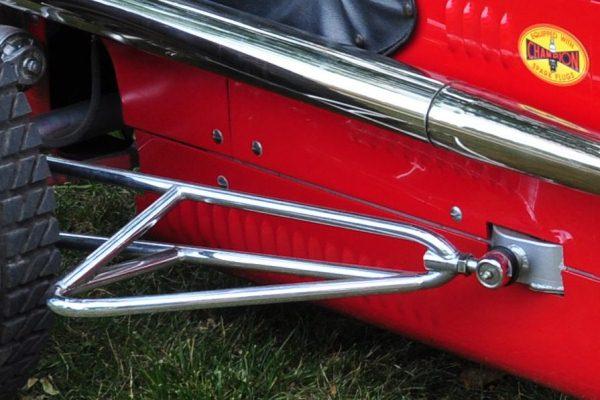 Butch Fork 1946 Kurtis Offy detail trailing arm