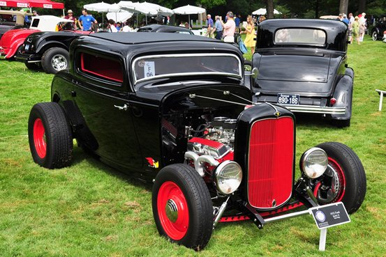 Tom May 1932 Ford three-window coupe
