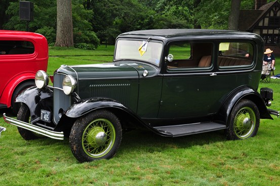 Louis and Pamela Ironside 1932 Ford Tudor Sedan