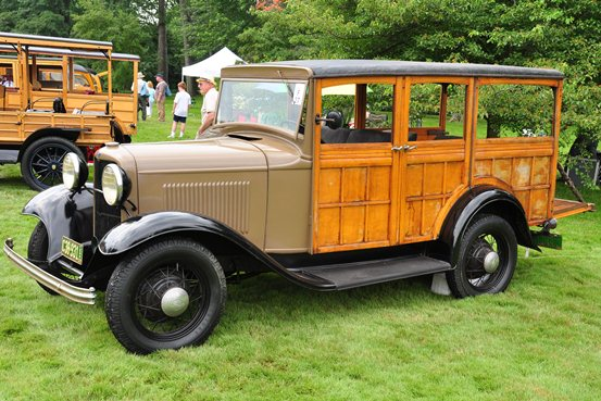 John Egbert 1932 Ford Station Wagon