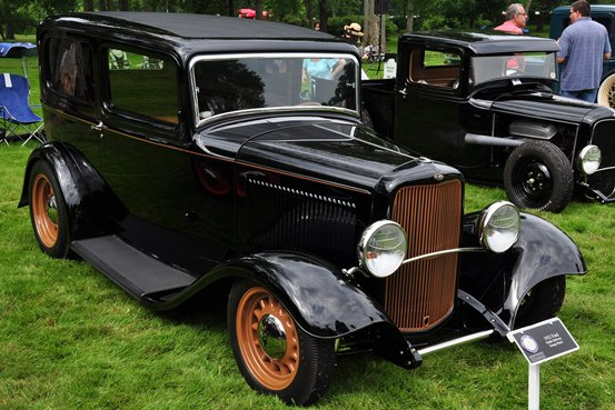 George Poteet 1932 Ford Sedan Delivery