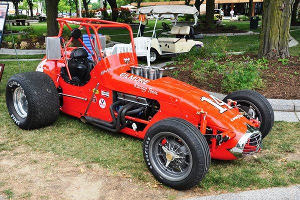 Jerry Nemire 1974 Grant King Champ Dirt car