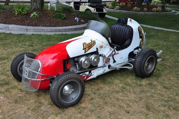 Lance Brookshire 1948 Kurtis Kraft Falcon Midget LF
