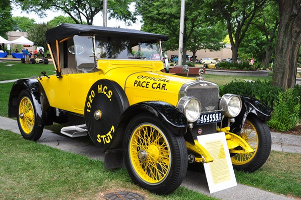 Mike Barry 1920 HCS Special Series 2 Roadster