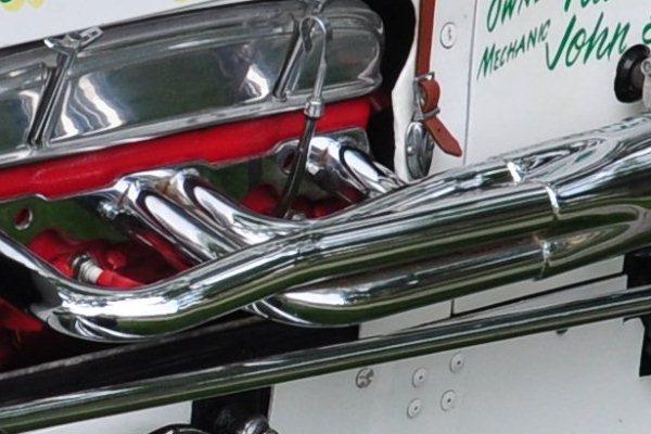 Pat Pillars Kurtis stretch engine detail