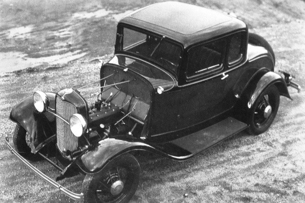 1932 Ford Model B coupe pre-production