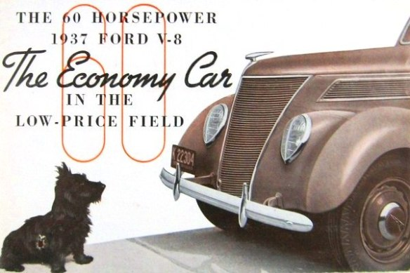 1937 Ford dog