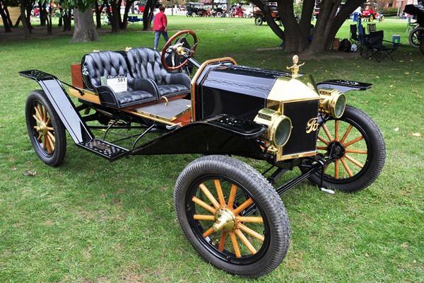 Alan Fawcett 1912 Ford Model T Speedster