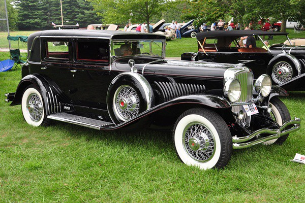 Bill Sherwood 1934 Duesenberg J Derham Arlington Sedan