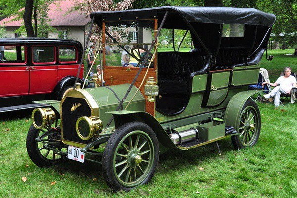 Don and Marlene Ohnstad 1909 Auburn G Touring