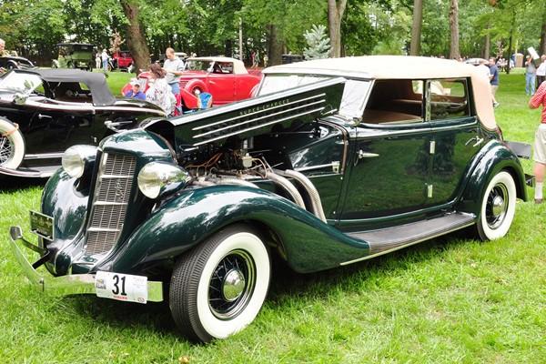 Donald G. Wallace 1936 Auburn 852 Phaeton