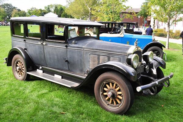 Ernie Schultz 1928 Willys-Knight 66A Sedan