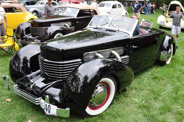 George Arakelian 1937 Cord 812 Cabriolet left front