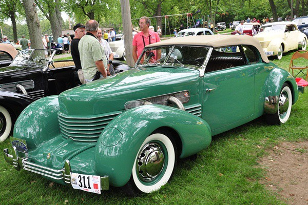 Gregory Foulk 1937 Cord 812 Phaeton