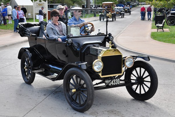 James Peters 1916 Ford Model T Touring