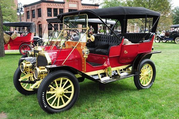 Peter McIntyre 1909 EMF 30 Touring