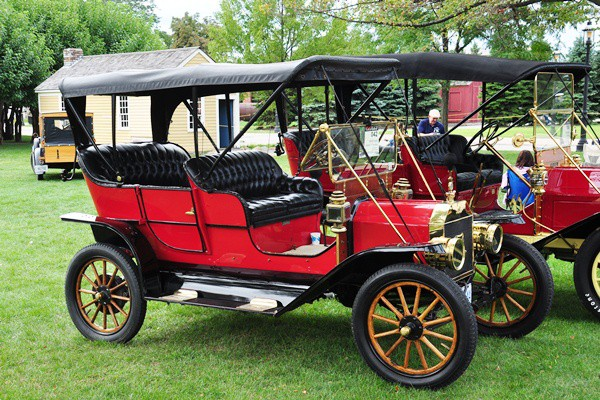 Tom Stewart 1909 Ford Touring Canadian