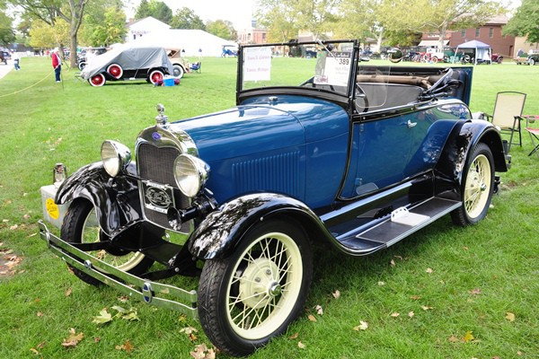 William A. Coleman 1929 Ford Model A Roadster