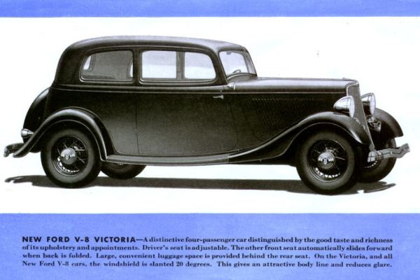1933 Ford Victoria rendering