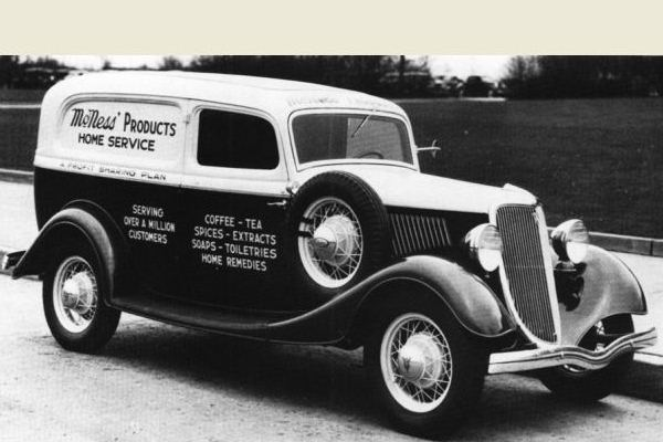 1934 Ford Sedan Delivery coffee