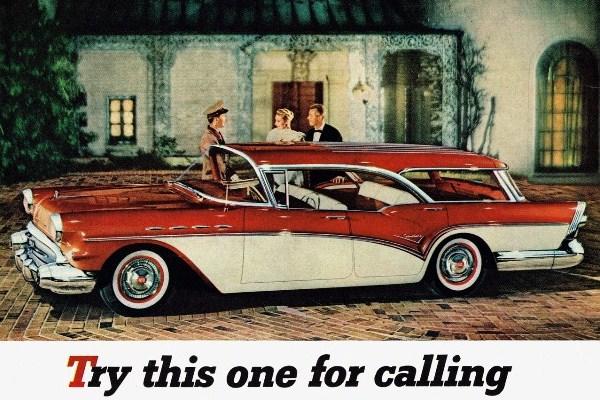 1957 Buick Century Caballero Station Wagon ad