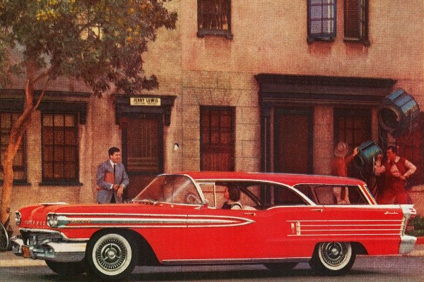 1958 Oldsmobile Super 88 Fiesta red ad