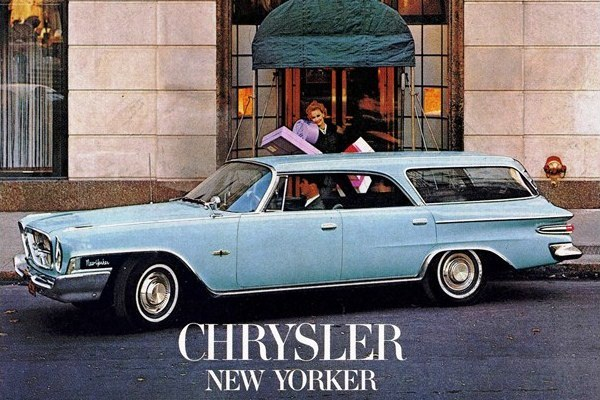 1962 Chrysler New Yorker Station Wagon