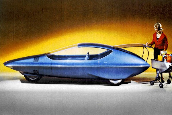 1964 GM Runabout concept1964 New York World's Fair